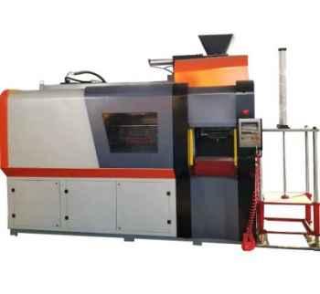 Horizontal parting flaskless automatic molding machine